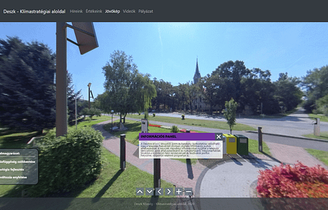 360° virtuális séta
