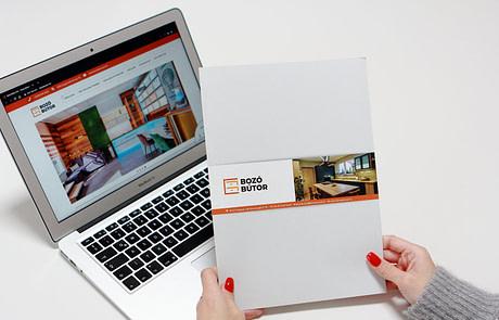 Interaktív brosúra